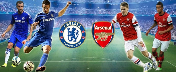 Image result for Arsenal vs Chelsea live pic