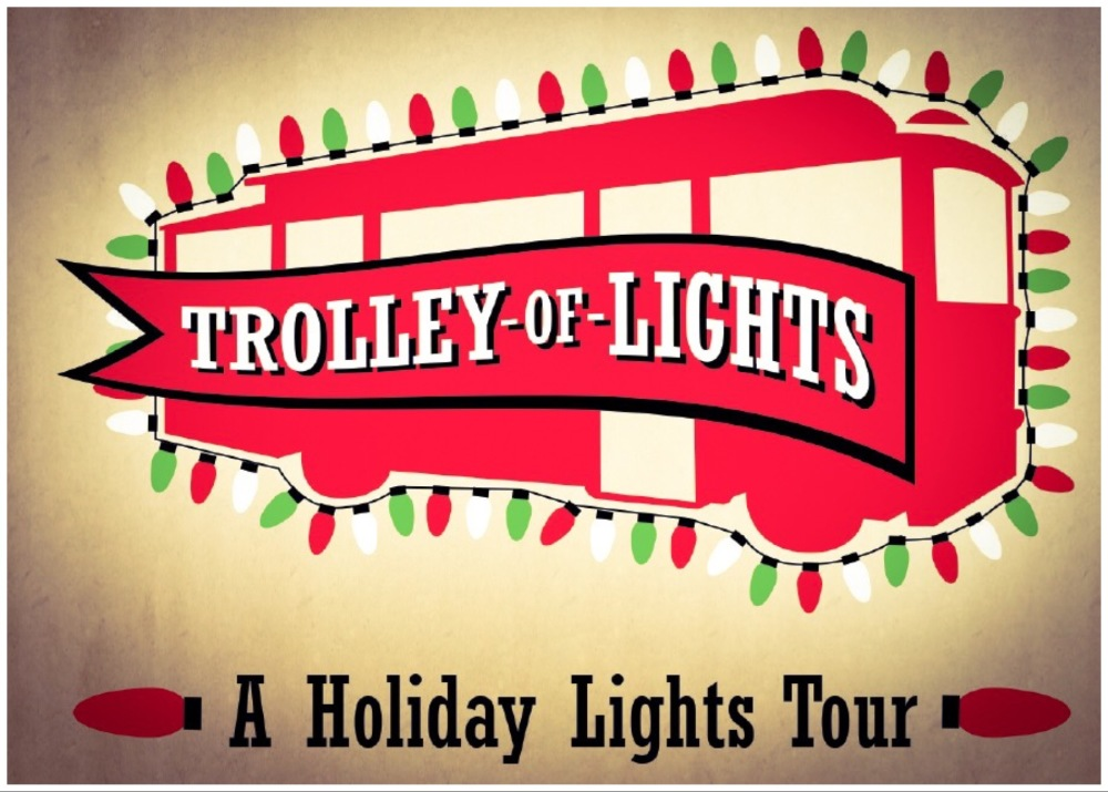 abq trolley co trolley of lights